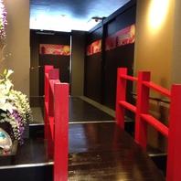 京都を想わせる空間