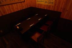 6名様前後のテーブル席も御用意しております!