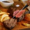 【名物料理】厳選お肉のグリルが自慢です!