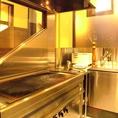 自分で焼けるグリルブースを完備!自分たちで食材を焼くことができます。詳細はお気軽にお問い合わせください。
