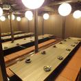 40名以上個室 【最大83名様】まで★※系列店との併設店舗です。