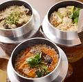 料理メニュー写真炊き込みご飯[酒いくら飯/うなぎ飯/カキ飯/鯛飯]