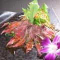 料理メニュー写真牛肉のカルパッチョ