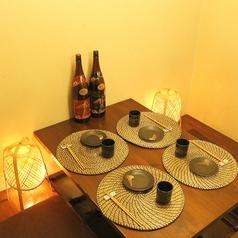 ≪全席完全個室≫和風の掘りごたつの落ち着いた個室空間で京料理を…