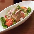 料理メニュー写真和風シーザーサラダ