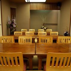 8~最大30名様までOKな、接待・宴会にぴったりな完全個室です。