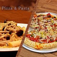 各種ピザ&各種パスタ☆コースも含む全30種類を提供♪