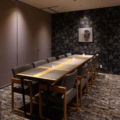 様々な用途に合わせて使用できる個室を用意。