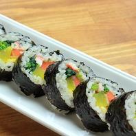 韓国海苔巻キムパ食べ放題コースも♪