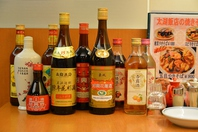 中国料理と相性の良い紹興酒、各種中国酒