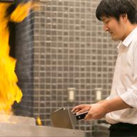 五感を刺激するアツアツの鉄板焼き♪