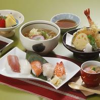 定食メニューが人気!肉料理・天ぷら・寿司・そばなど♪