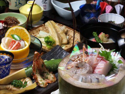 おまかせ料理 9品 4000円(税抜)