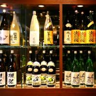 【酒棚】全国各地から厳然した焼酎、日本酒♪