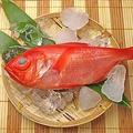 料理メニュー写真金目鯛刺し(青森県)
