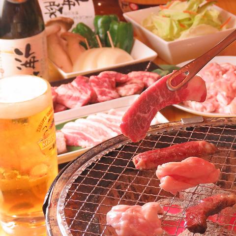 うまいホルモンと焼肉の店 海豚 仙台東口店