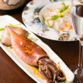 料理メニュー写真イカの姿焼き