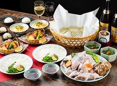 ふぐ料理 玄品 京都祇園のコース写真