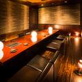 宴会にも使いやすいお座敷空間。広々とした優雅なお席です。女子会やコンパにも人気。
