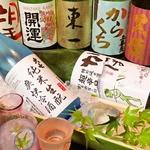 森伊蔵、村尾、魔王をはじめ黒龍、かっぱなど種類豊富な日本酒&焼酎そろってます♪