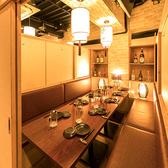 中人数向けの個室席は飲み会、女子会などに最適です◎渋谷でお店選びに困っているときは是非「風林火山 渋谷店」をご利用ください!お得なクーポンも種類豊富にございます♪