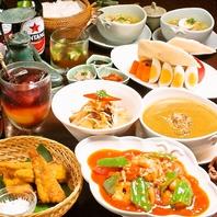 本格インドネシア料理のコースが3580円~楽しめます♪