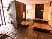 座敷は最大30名様までOK!14名席×1・6名席×1・10名席×1 ご用意しております。