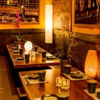 完全個室完備。上野での宴会,飲み会,貸切宴会に◎