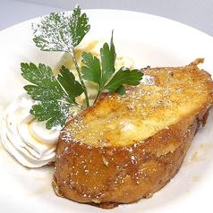 料理メニュー写真自家製「生」フレンチトースト・メープル