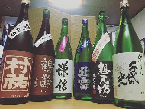 店主の出身地!米どころ新潟の酒!季節ごとのお酒用意してます!