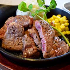 豪快!牛ステーキの鉄板焼き