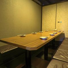 写真は8名様完全個室★何名様でも完全個室へご案内★※系列店との併設店舗です。