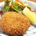 料理メニュー写真蟹と蟹味噌のクリームコロッケ 1個