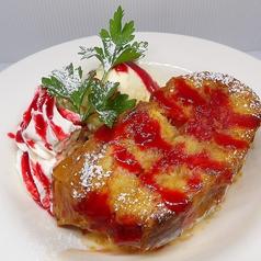 料理メニュー写真自家製「生」フレンチトースト・ベリーソース