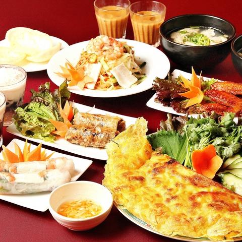 ベトナム料理本場ハノイの味が楽しめるお店★ベトナムから直送したこだわりの食材で