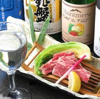 お酒とお料理のペアリングを楽しめます!