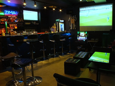 football&music Bar Blueの雰囲気1