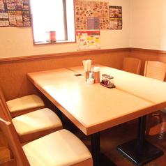 みんなでわいわい6名テーブル席
