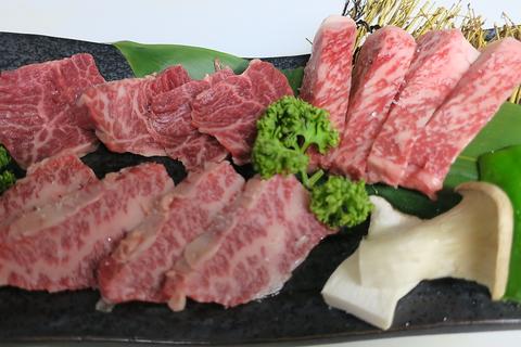 有名店にも引けを取らない上質なお肉が贅沢に味わえる