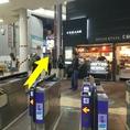 道案内1.阪急各線より十三駅西口改札を出て、正面商店街の方へ進む。