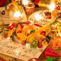 ☆誕生日・記念日に♪☆デザートプレートプレゼント♪