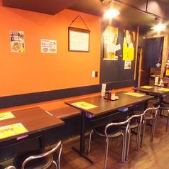 広々としたテーブル席です。秋葉原/居酒屋/ラーメン/末広町/宴会/餃子/飲み放題/中華/ビール/炒飯/鍋/中華そば