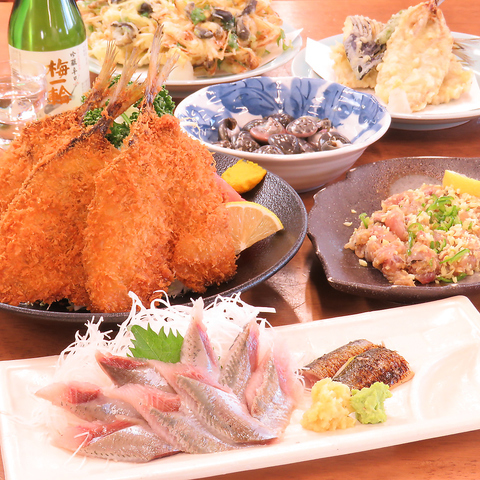 新鮮な九十九里の海産物を目の前で焼きながら食べれる 楽しくてアットホームなお店♪