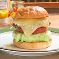 料理メニュー写真ステッペンチーズバーガー