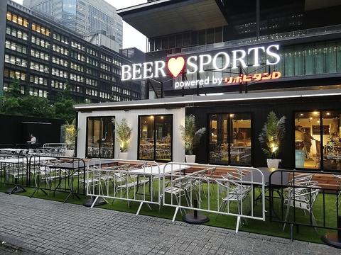<7月3日オープン>ビアガーデンがOPEN!ビールはもちろん毎週スポーツイベント開催