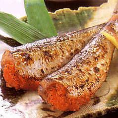 博多の郷土料理 いわし明太焼き