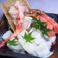 料理メニュー写真海鮮しゃぶ盛合せ(1人前)