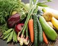 お野菜も千葉県産の物を使っております。