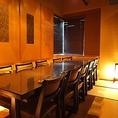 12名様用テーブル席のお部屋です。職場やご友人とのお集まりなどでのご利用時に人気のお部屋です。