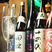 日本酒はワイングラスで提供☆